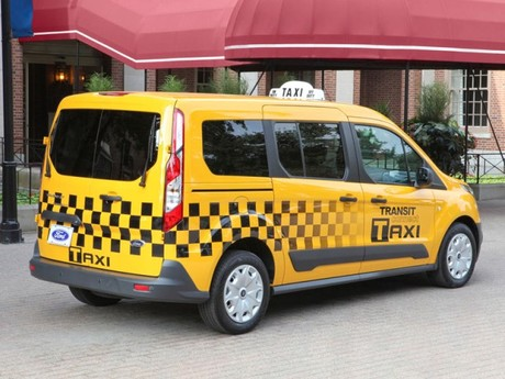 Ford transit connect als taxi fuer us markt 002