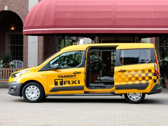 Ford transit connect als taxi fuer us markt 004