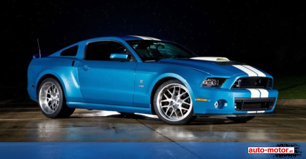 shelby mustang gt500 cobra mit 850 ps auto. Black Bedroom Furniture Sets. Home Design Ideas