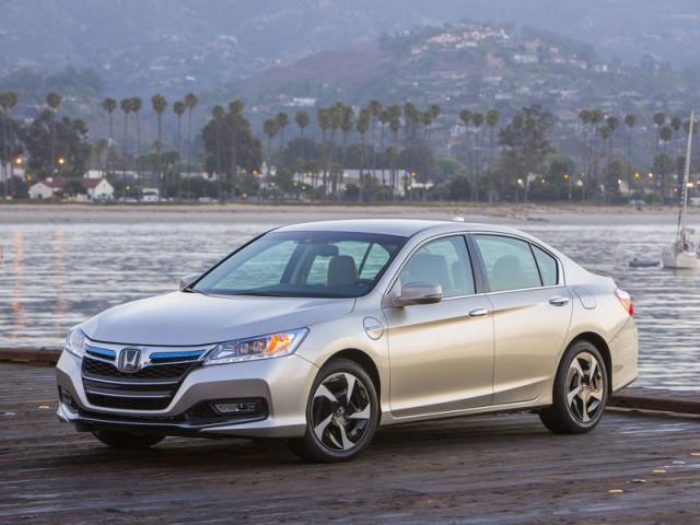Honda bietet den accord in nordamerika ab sofort auch in einer plug in