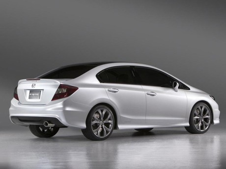 Honda Civic Si Concept und Civic Sedan Concept