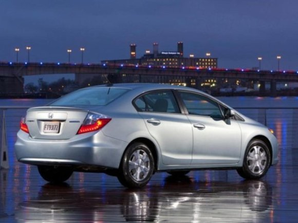 New York 2011: Honda Civic Hybrid