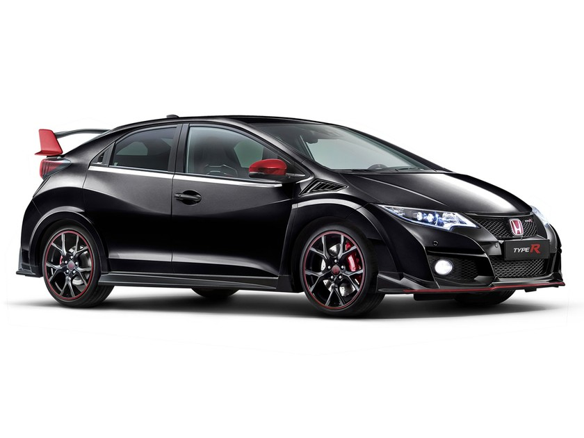 Limitierte black edition white edition modelle des civic type r 001