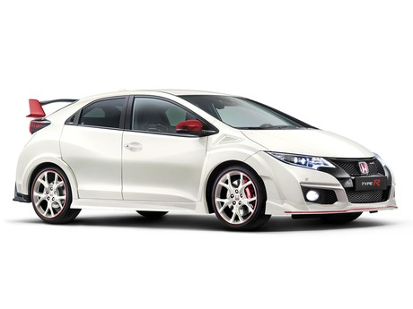 Limitierte black edition white edition modelle des civic type r 002