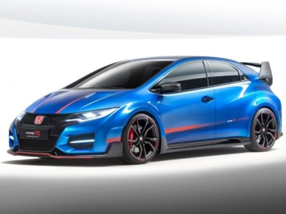 Honda zeigt Civic Type R Concept II in Paris