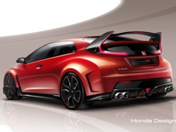 Civic Type R Concept feiert Weltpremiere in Genf