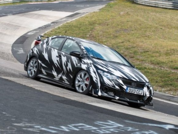 Honda Civic Type R kommt 2015