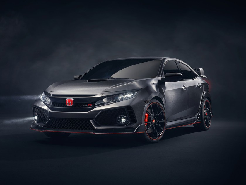Honda zeigt civic type r prototype paris 001