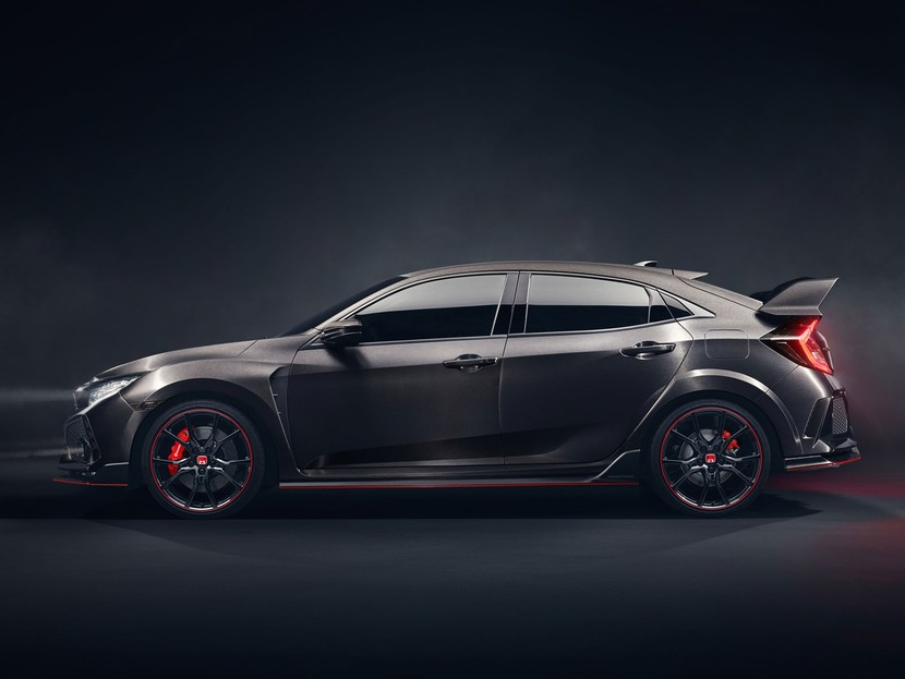 Honda zeigt civic type r prototype paris 003