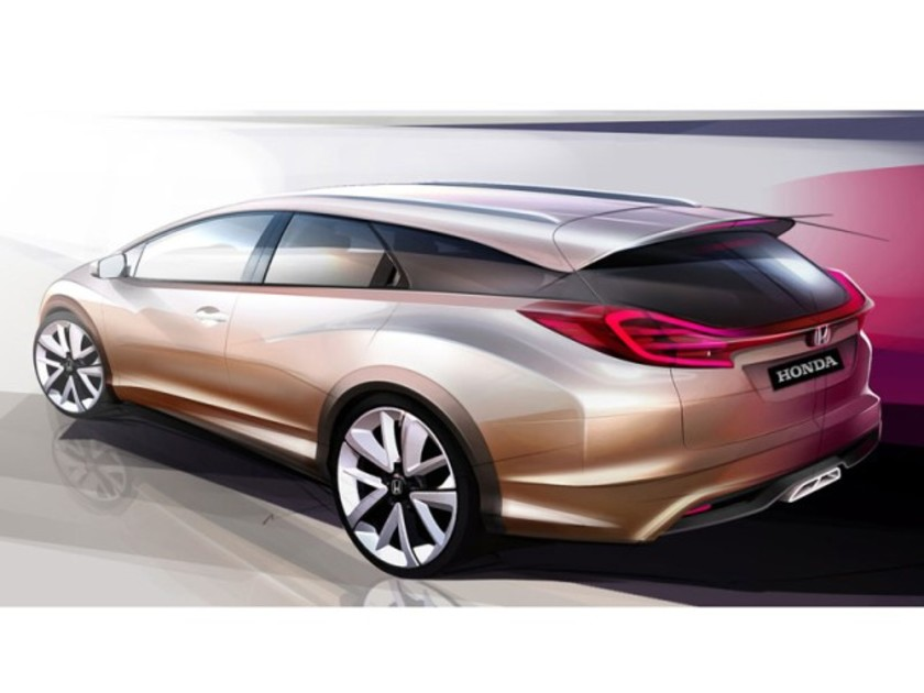 Honda zeigt civic wagon concept genf 001