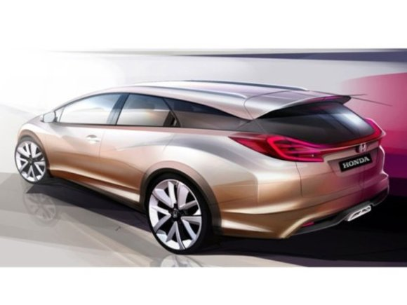 Honda zeigt Civic Wagon Concept in Genf