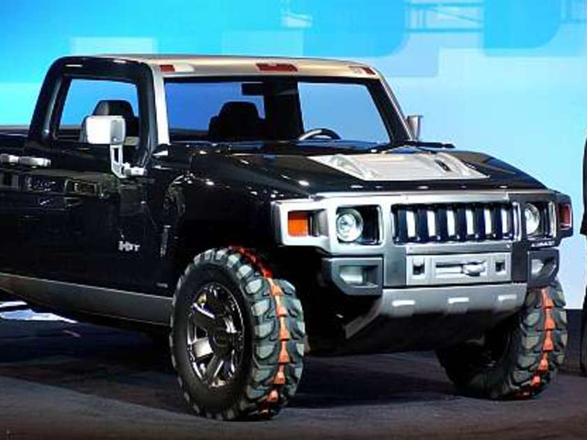 Hummer h3t pichup concept