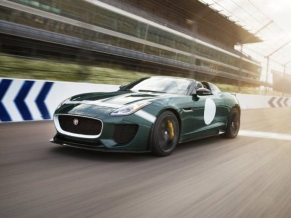 Jaguar präsentiert in Goodwood F-Type Projekt 7