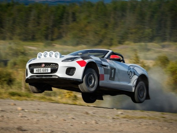 Jaguar zeigt Rallye-Version des F-Type