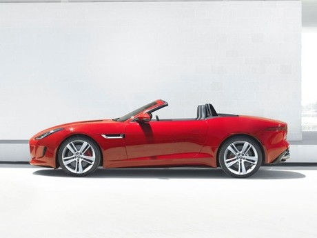 Weltpremiere jaguar f type 009