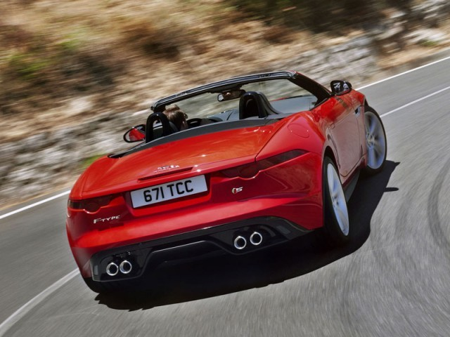 Weltpremiere jaguar f type 014