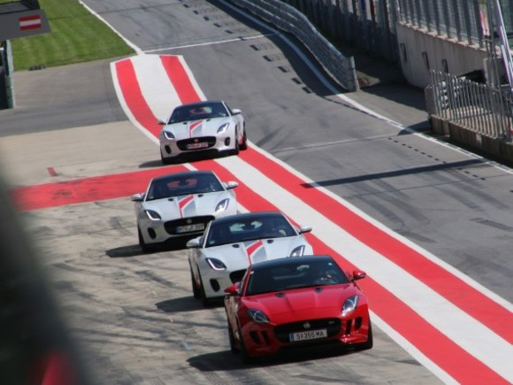 Jaguar Land Rover Track-Day