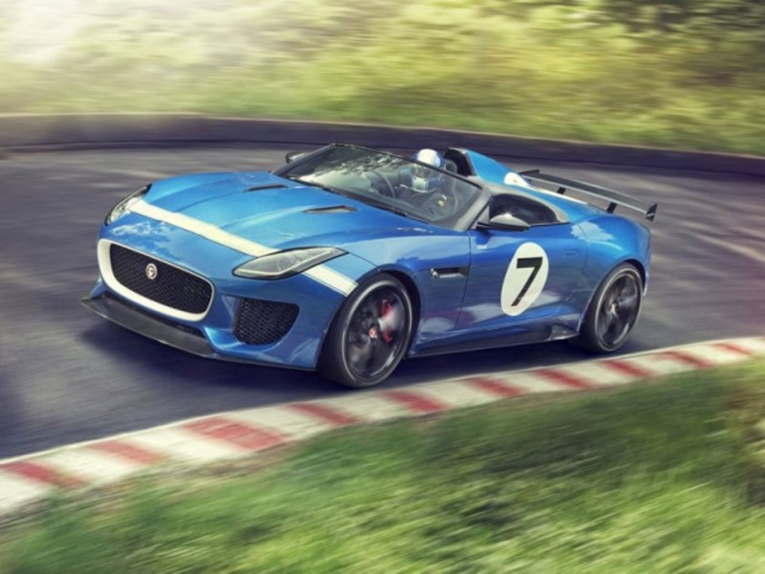 Jaguar project 7 debuetiert goodwood 001