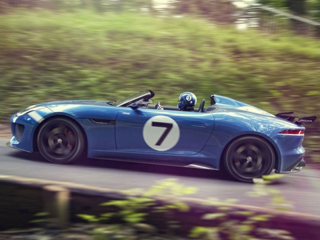 Jaguar project 7 debuetiert goodwood 004