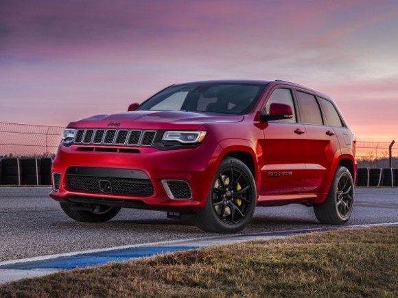 Jeep Grand Cherokee mit 707 PS