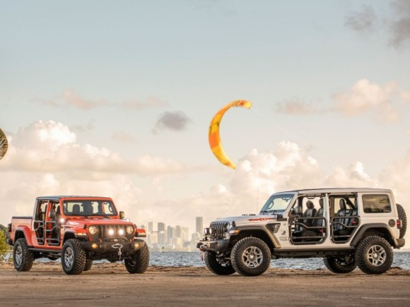 Jeep Wrangler und Gladiator Three O Five Sondermodell