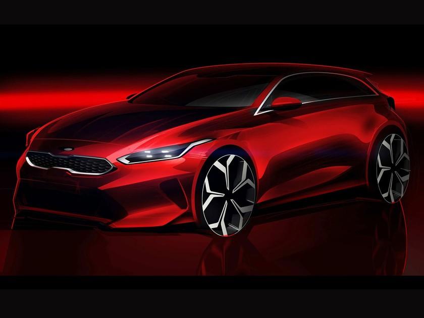 Erste Skizze vom neuen Kia Ceed ::: auto-motor.at :::