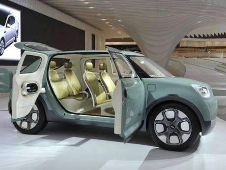 Kia Naimo Concept Car in Seoul