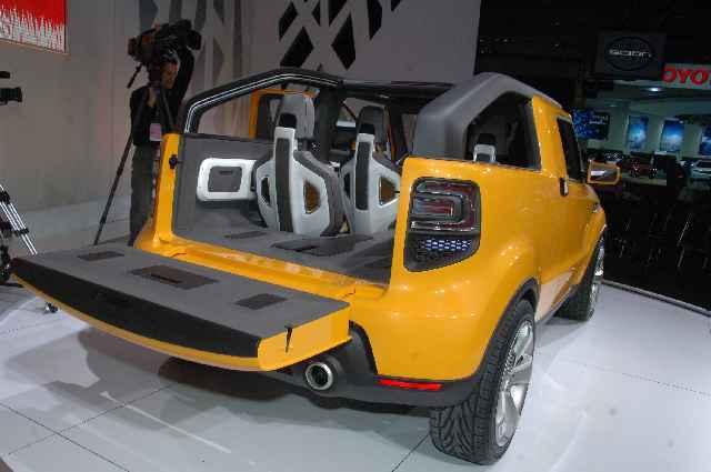 kia soul pick up concept auf detroit autoshow auto. Black Bedroom Furniture Sets. Home Design Ideas