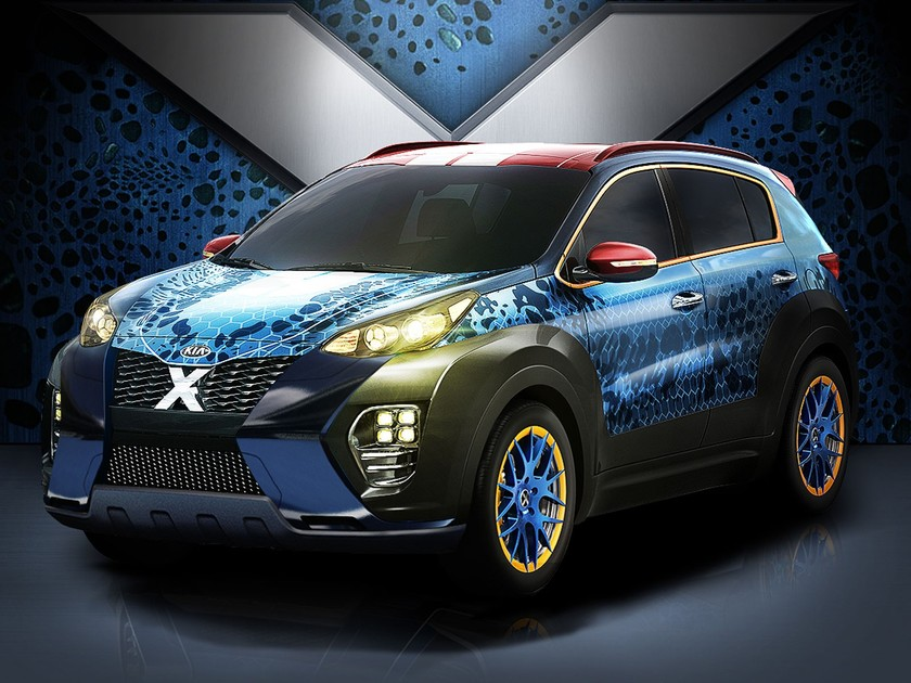 Kia sportage x men design 001