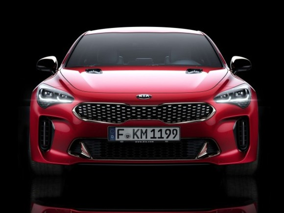 Europa-Version des Kia Stinger