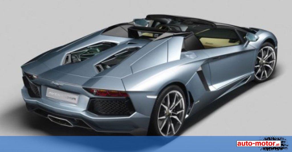 der neue lamborghini aventador lp 700 4 roadster auto. Black Bedroom Furniture Sets. Home Design Ideas