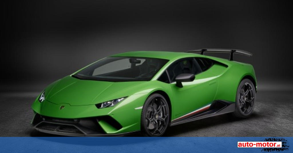 power stier lamborghini huracan performante auto. Black Bedroom Furniture Sets. Home Design Ideas