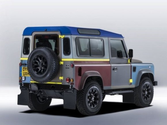Einzelstück: Defender im Paul Smith-Design
