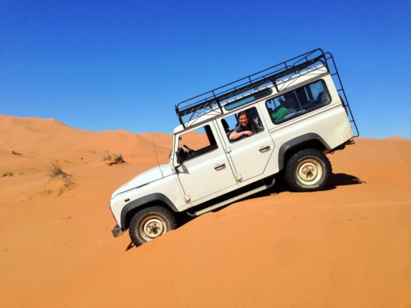 Land rover defender reisen
