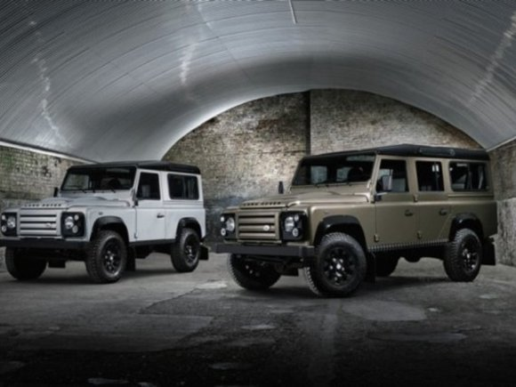 Land Rover Defender: Sondermodell 'Rough'