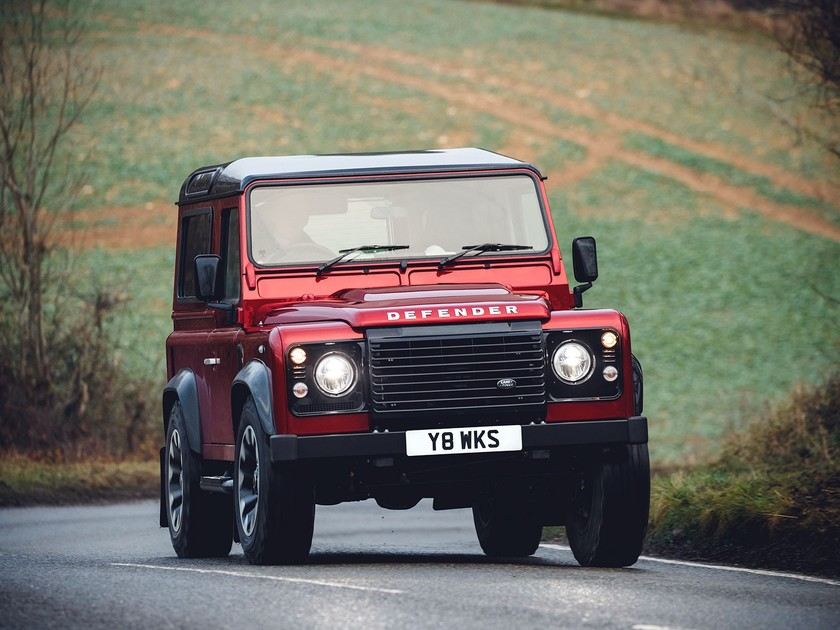 Land rover bringt sonderedition des defender 001