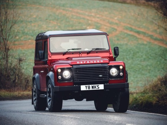 Land Rover bringt Sonderedition des Defender