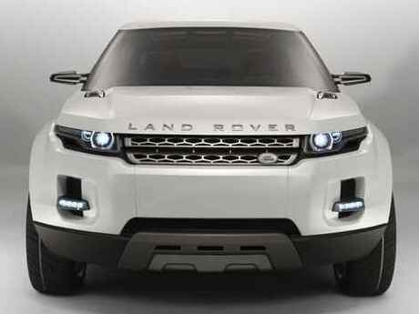 Land rover lrx front