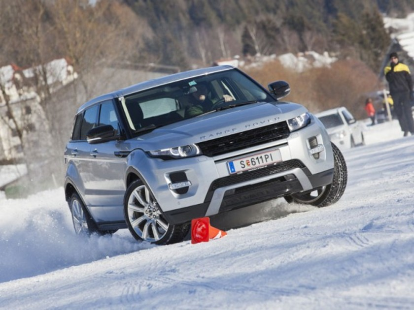 Land rover winter driving 2013 001