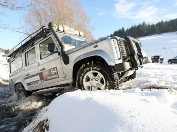Land Rover Winter Driving