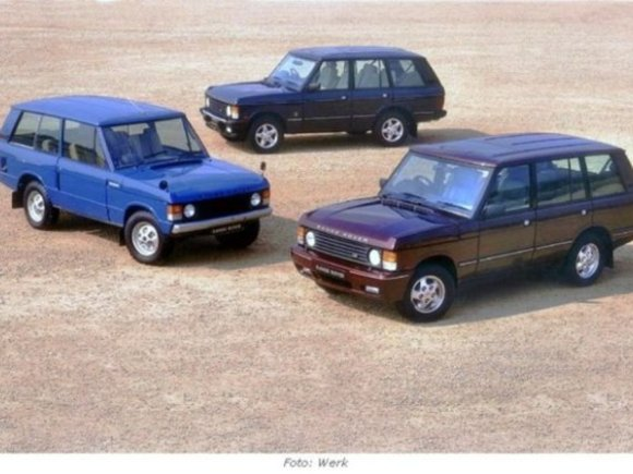 Happy Birthday: Der Range Rover wird 40