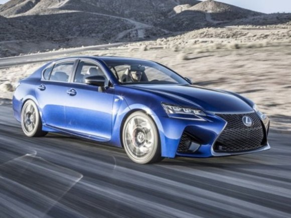 Debüt des Lexus GS F in Goodwood