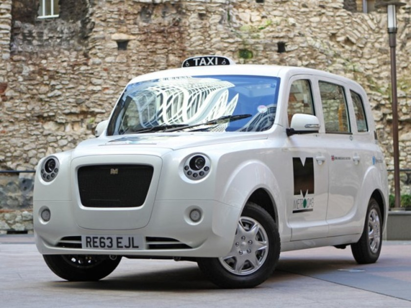 Neues metrocab taxi fuer london 001