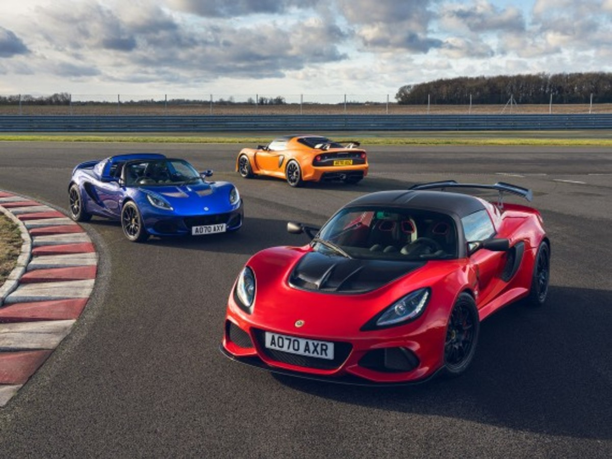 Lotus Elise und Exige Final Edition