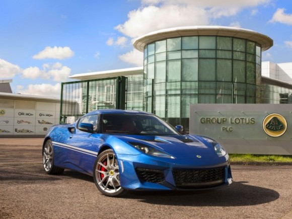 Sonderedition vom Lotus Evora 400