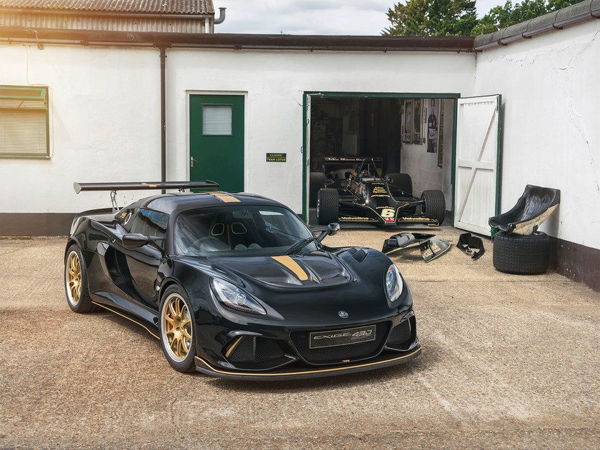 Lotus zeigt exige typ 49 79 goodwood 001