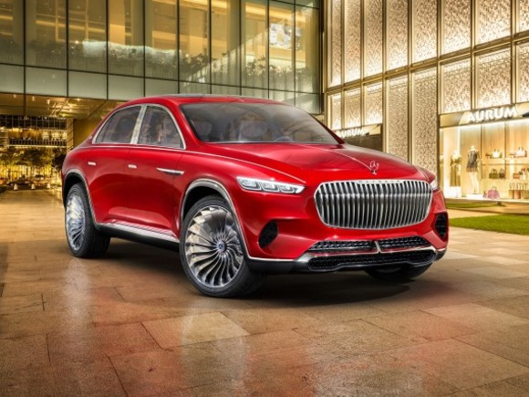 Weltpremiere: Vision Mercedes-Maybach Ultimate Luxury