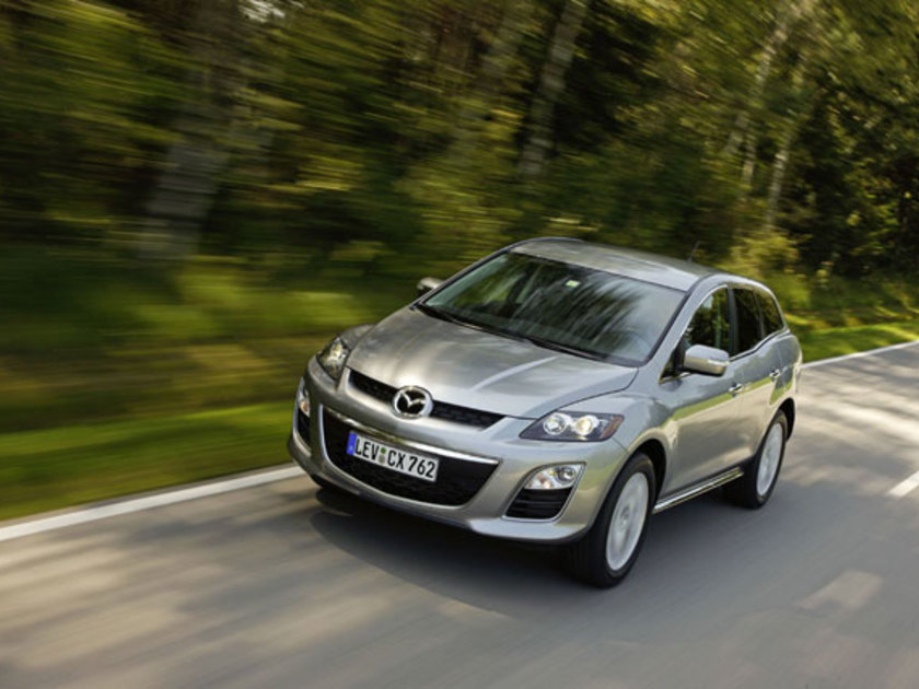 Mazda CX-7 : SUV-Facelift ::: auto-motor.at :::