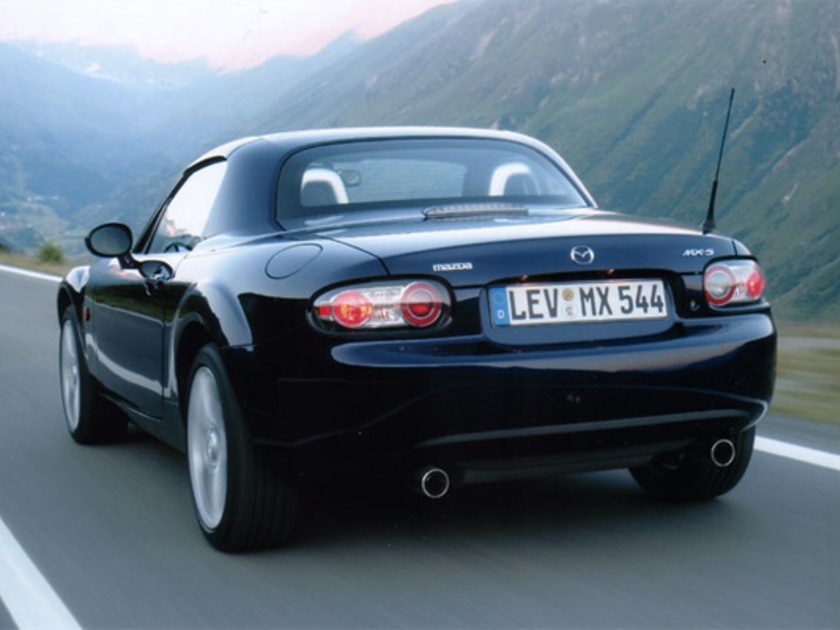 Mx 5 roadster coupe hinten