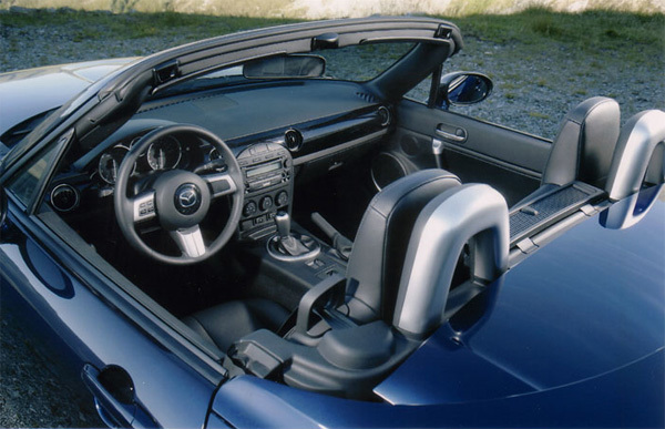 Mx 5 roadster coupe innen